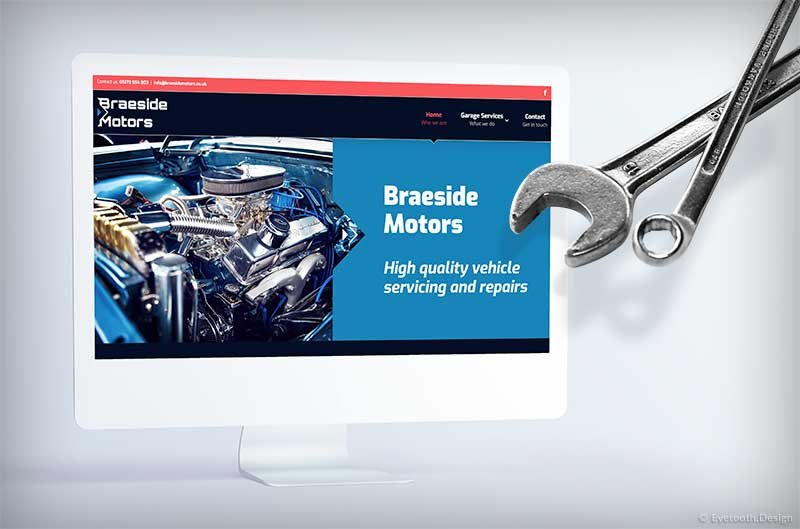 Braeside Mechanics brand redesign