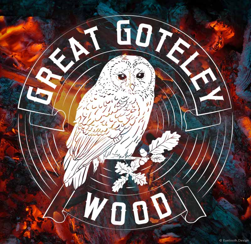 Great Goteley Wood logo design