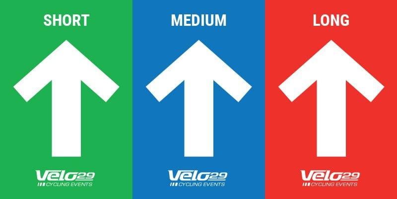 Velo29 route direction board designs
