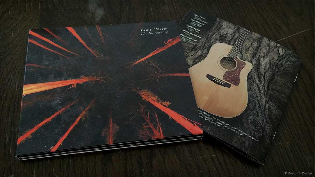 Album cover & booklet design for Eden Parris
