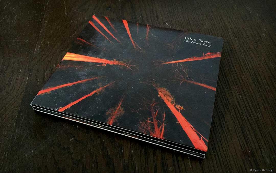 cd front cover design for Eden Parris