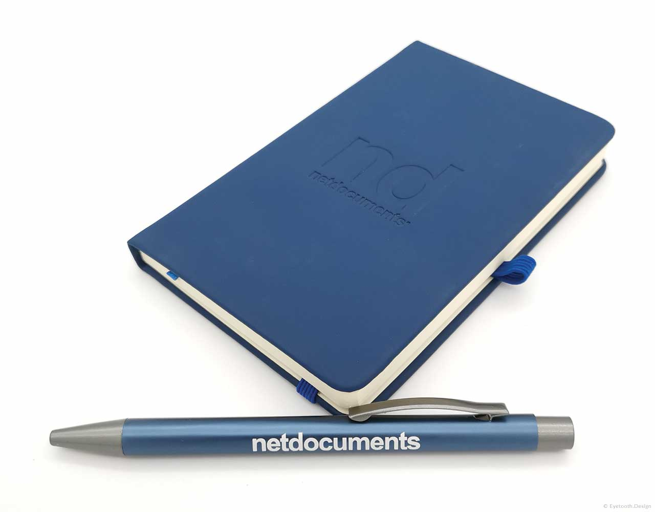 Branded pen & pad for Net Documents