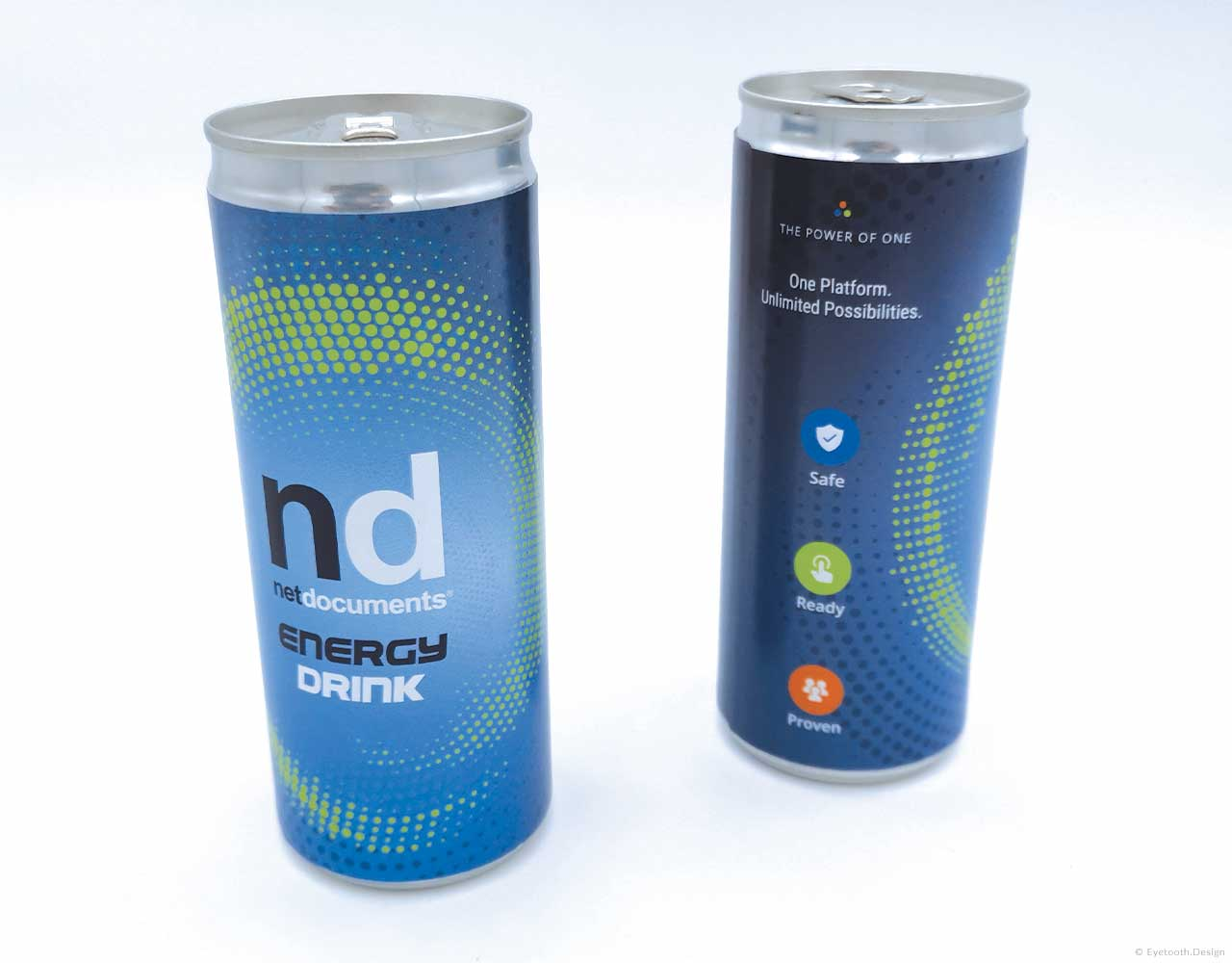 Energy drink product packaging