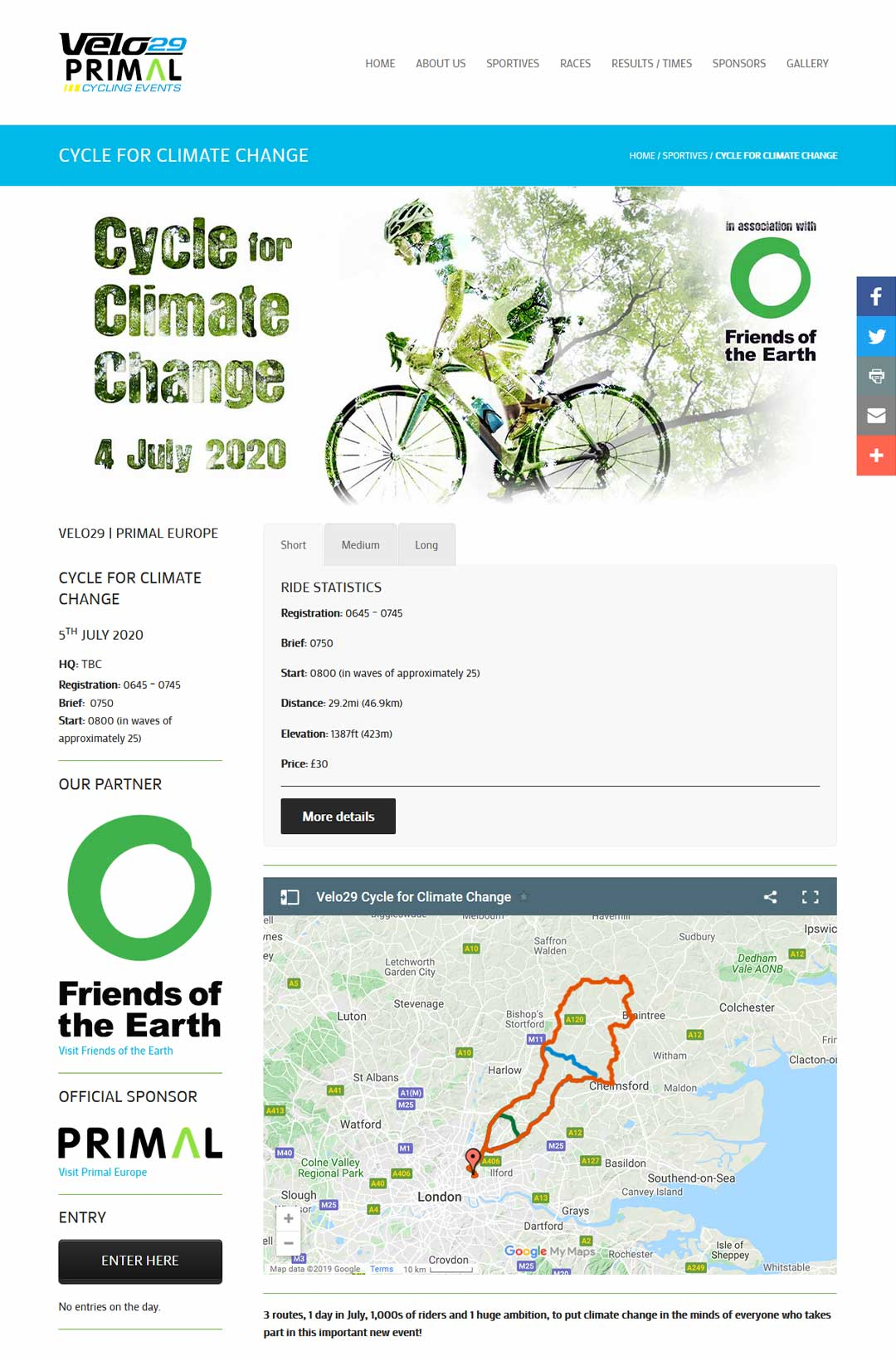 Double Exposure Designs used for Cycle for Climate Change sportive Web page