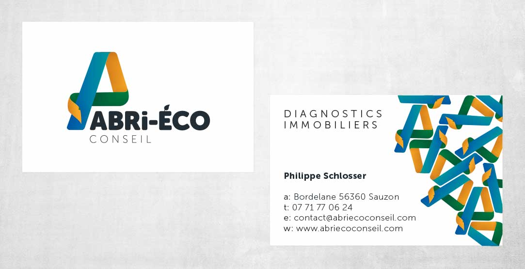 Eco-Friendly renovations business card designs