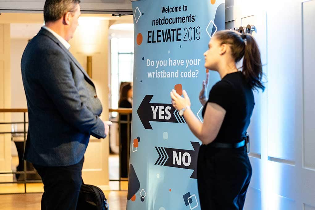 Elevate 2019 banner design