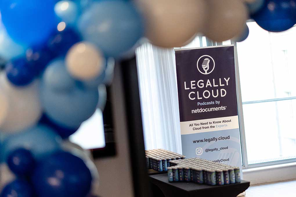 Legally Cloud banner design