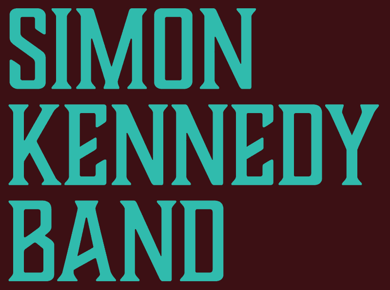 Band name logo typography