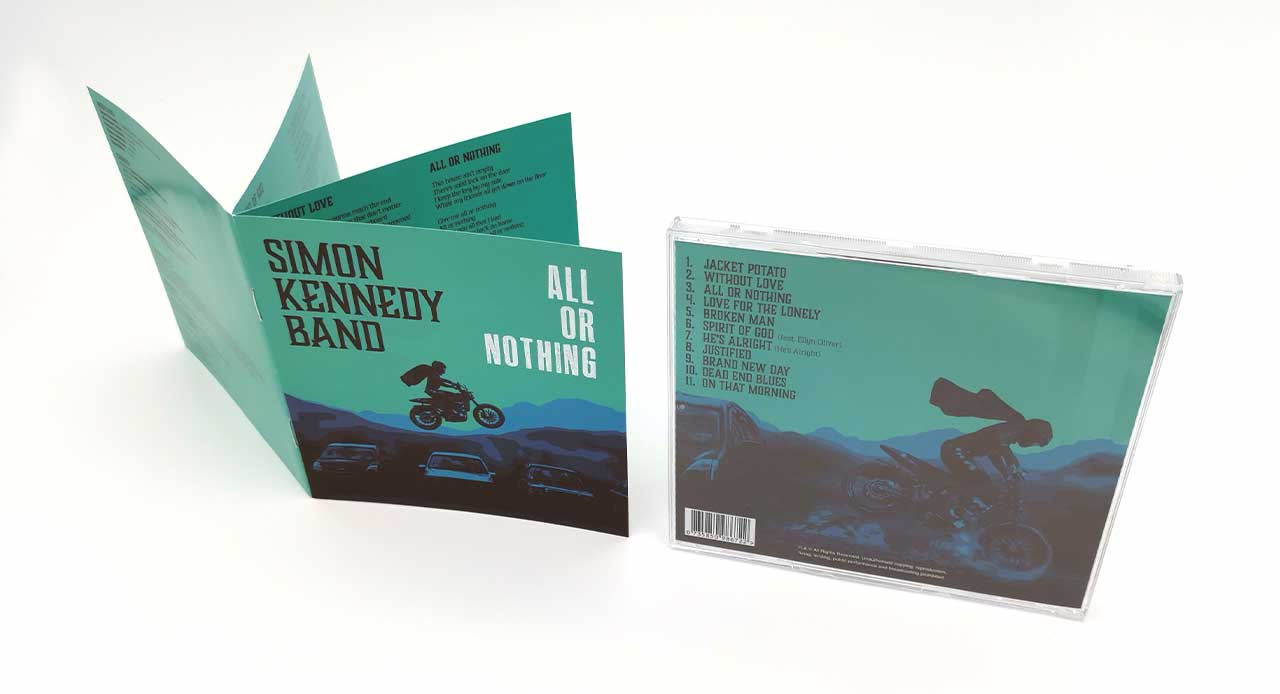 CD dcover and booklet design