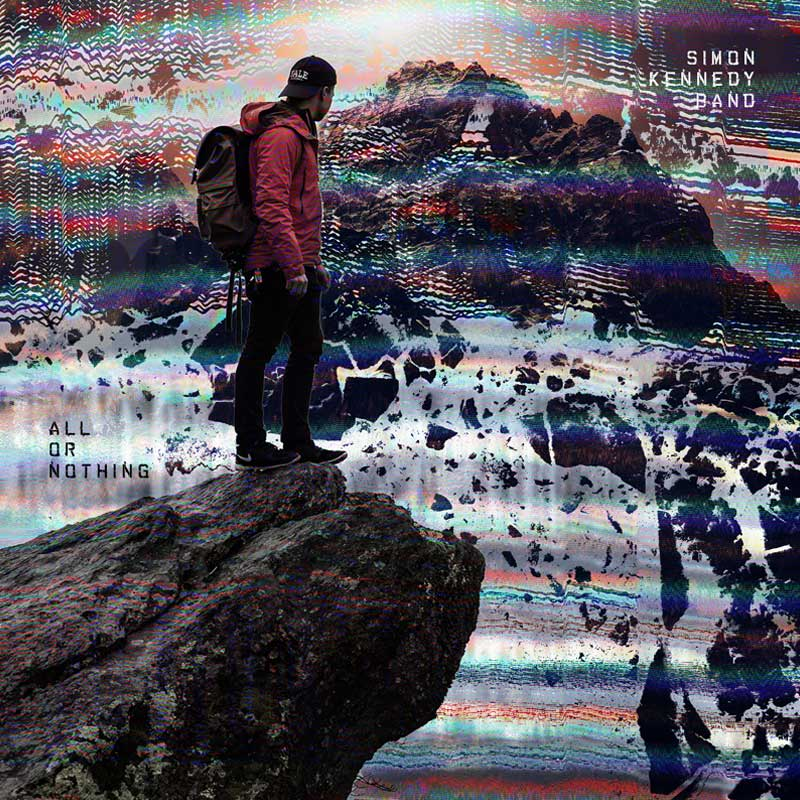 Crumbling Mountain album cover concept design