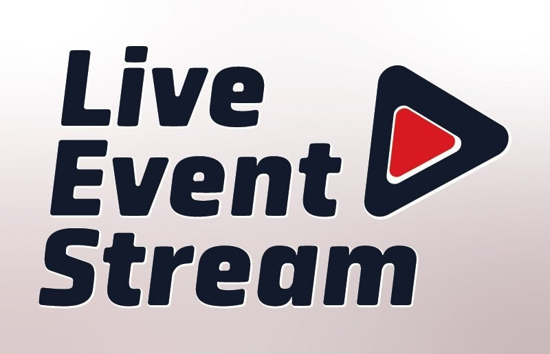 Live Event Stream Logo Design - Dark colours