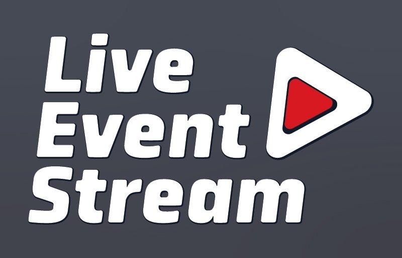 Live Event Stream Logo Design - Light colours