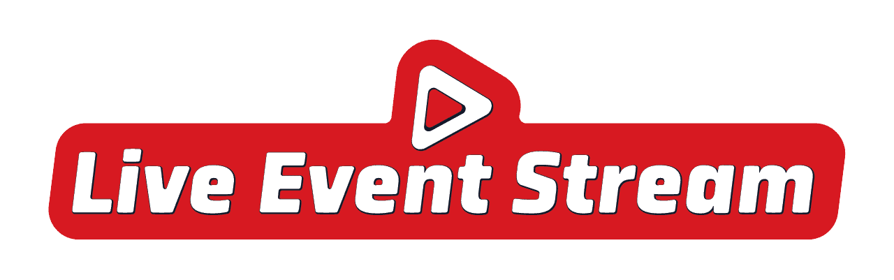 Live Event Stream Logo - long version