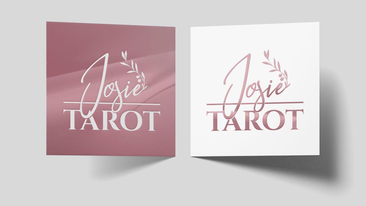 Josie Tarot logo design by Eyetooth