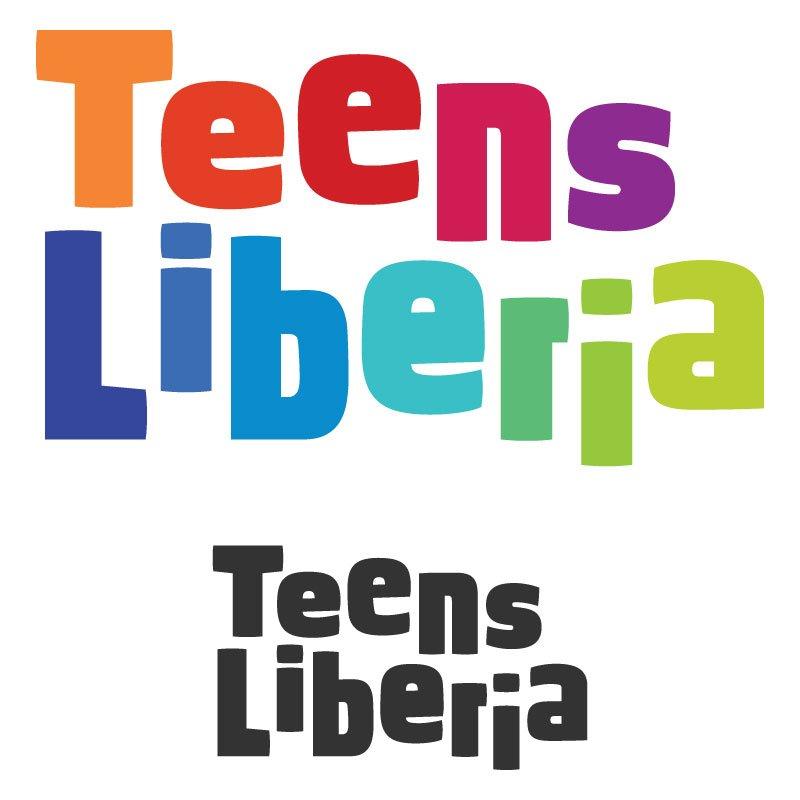 Teens Liberia logo - playful concept