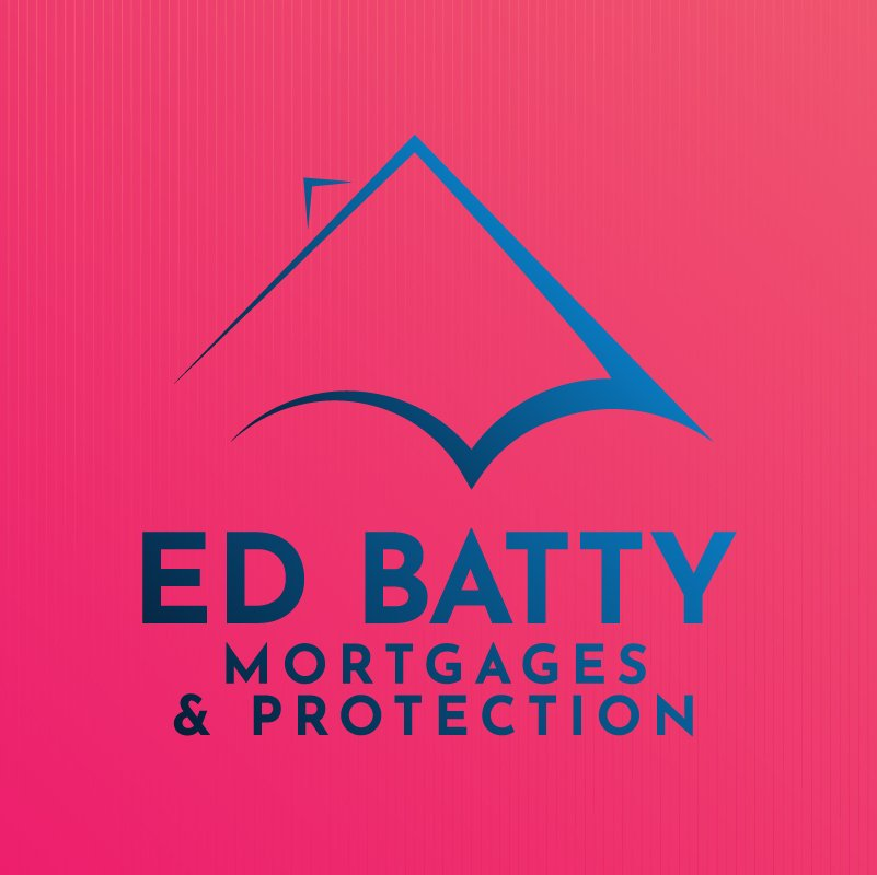 Ed Batty Mortgages and Protection Logo Design