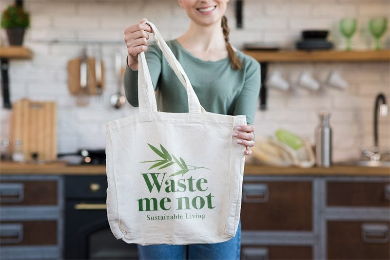 Sustainable logo designs for Waste me not