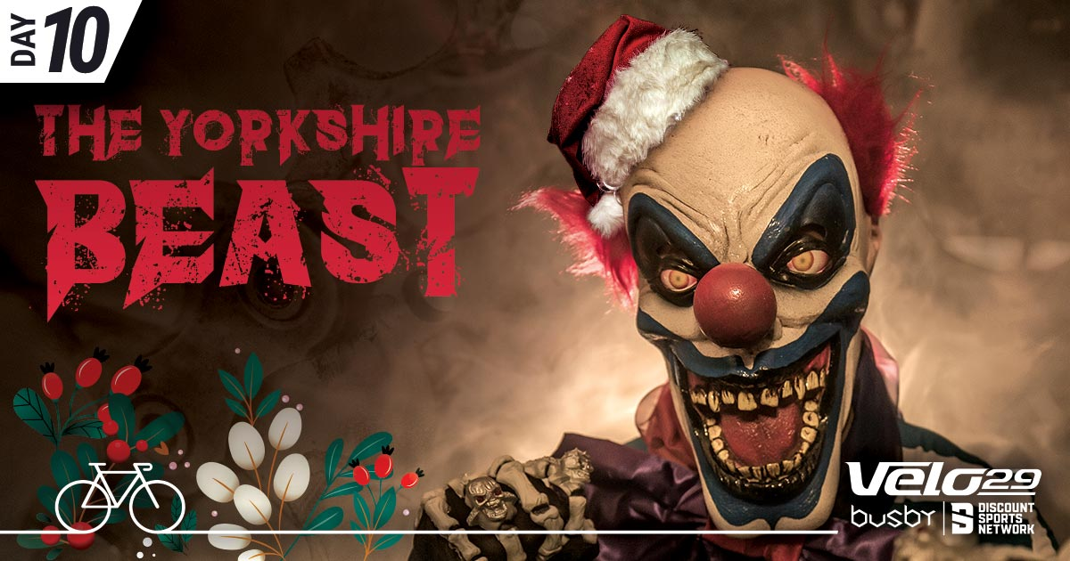 Day 10 - Beast Sportive - 12 Climbs of Christmas Promotional Artwork
