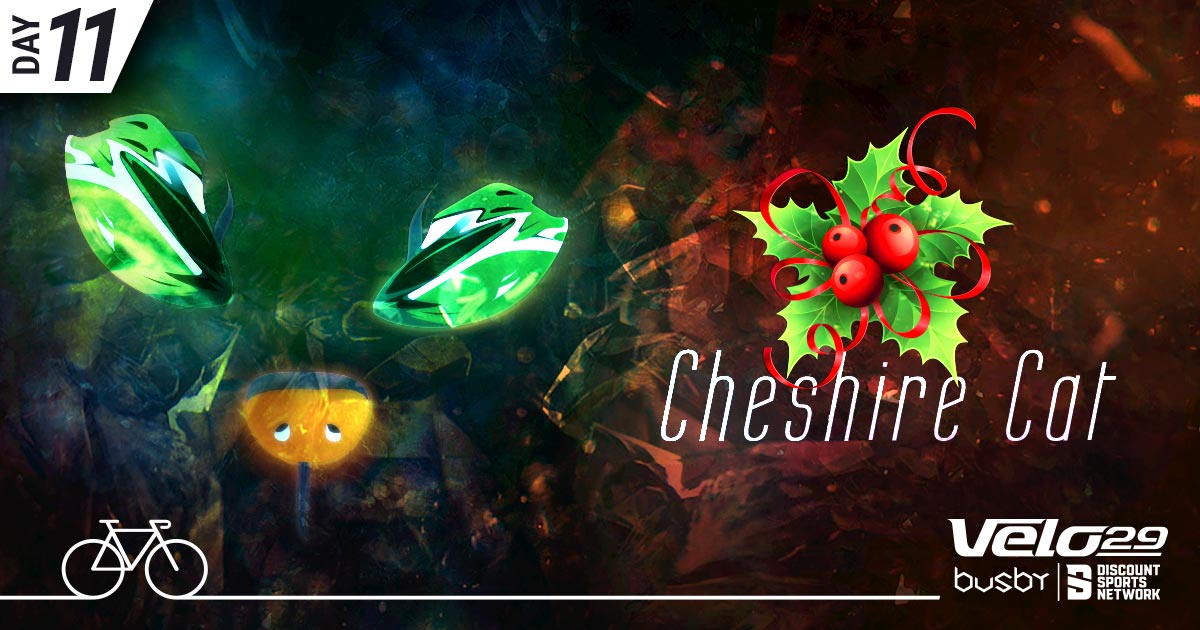 Day 11 - Cheshire Cat Sportive xmas design for Facebook