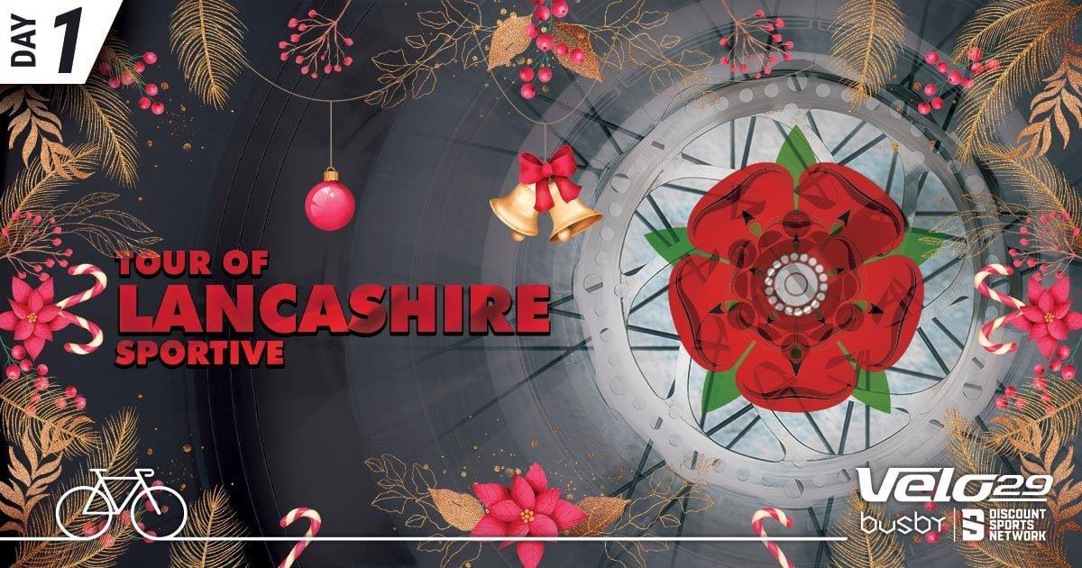 Day 1 - Tour of Lancashire - xmas promo design