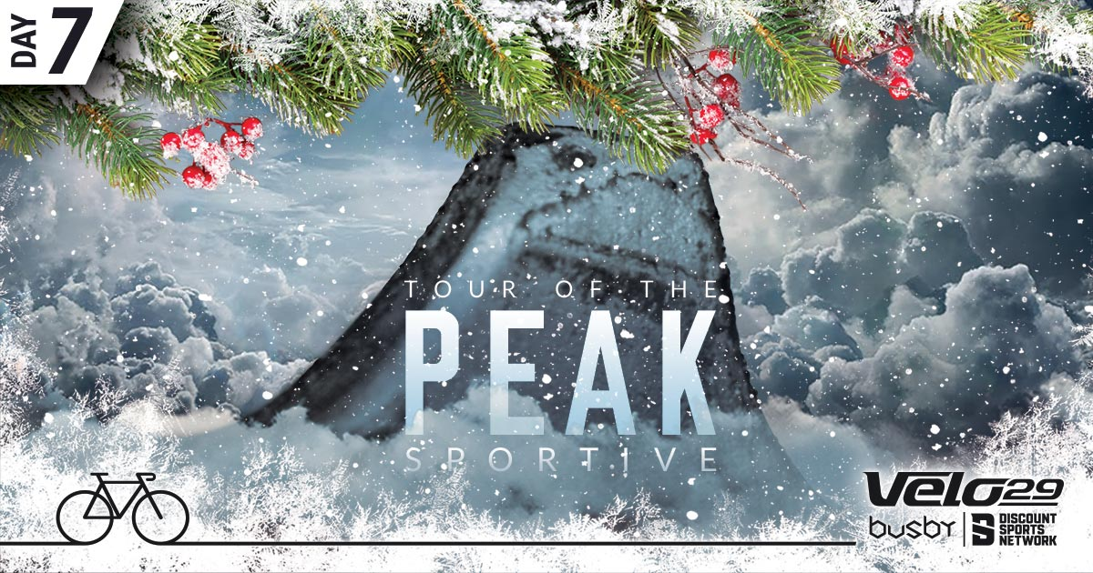 Day 7 - Tour of the Peak cycing event christmas design