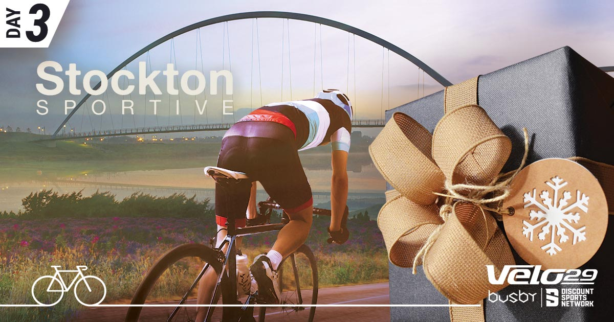 Day 3 - Stockton Cycling Event - Christmas competition artwork