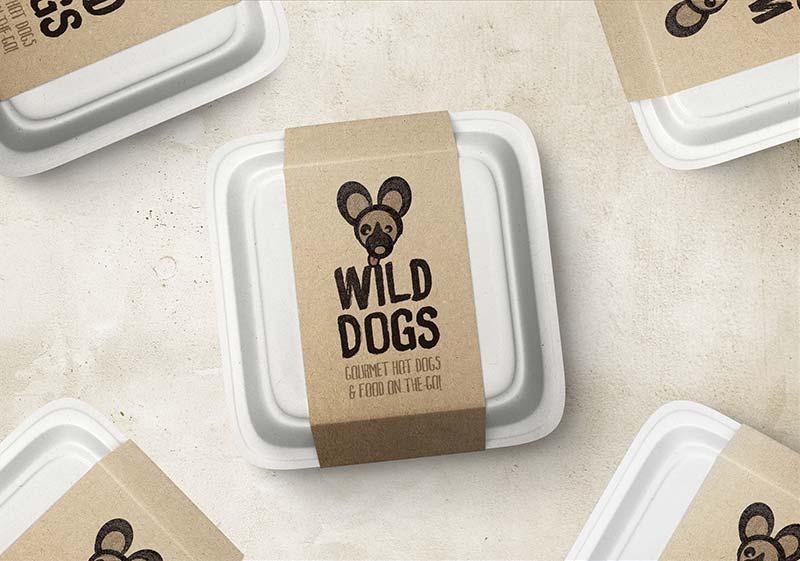 Wild Dogs Sleeve Design