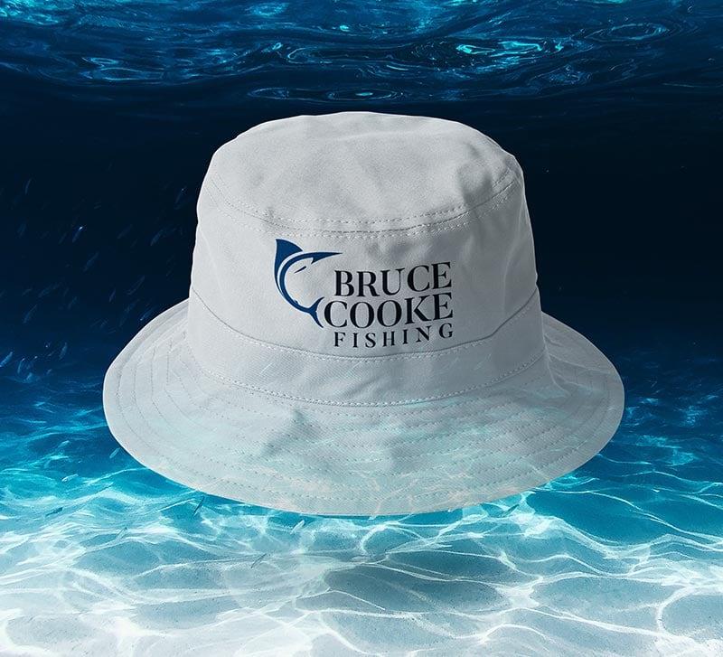 Fishing Hat Merchandise Design