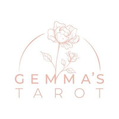 Tarot reading logo design