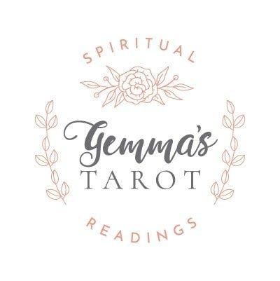 Spiritual readings logo design