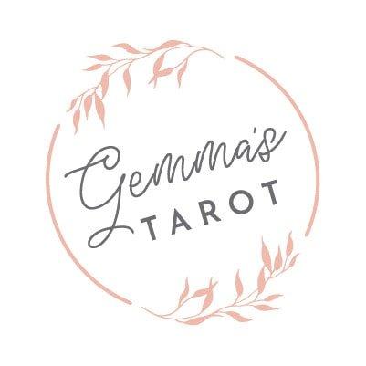 Gemma's Tarot logo design concept