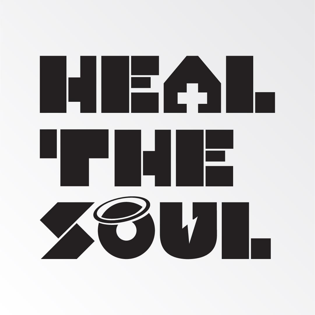 bold stylised music logo design