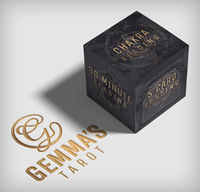 Gemma's Tarot brand & Website Design
