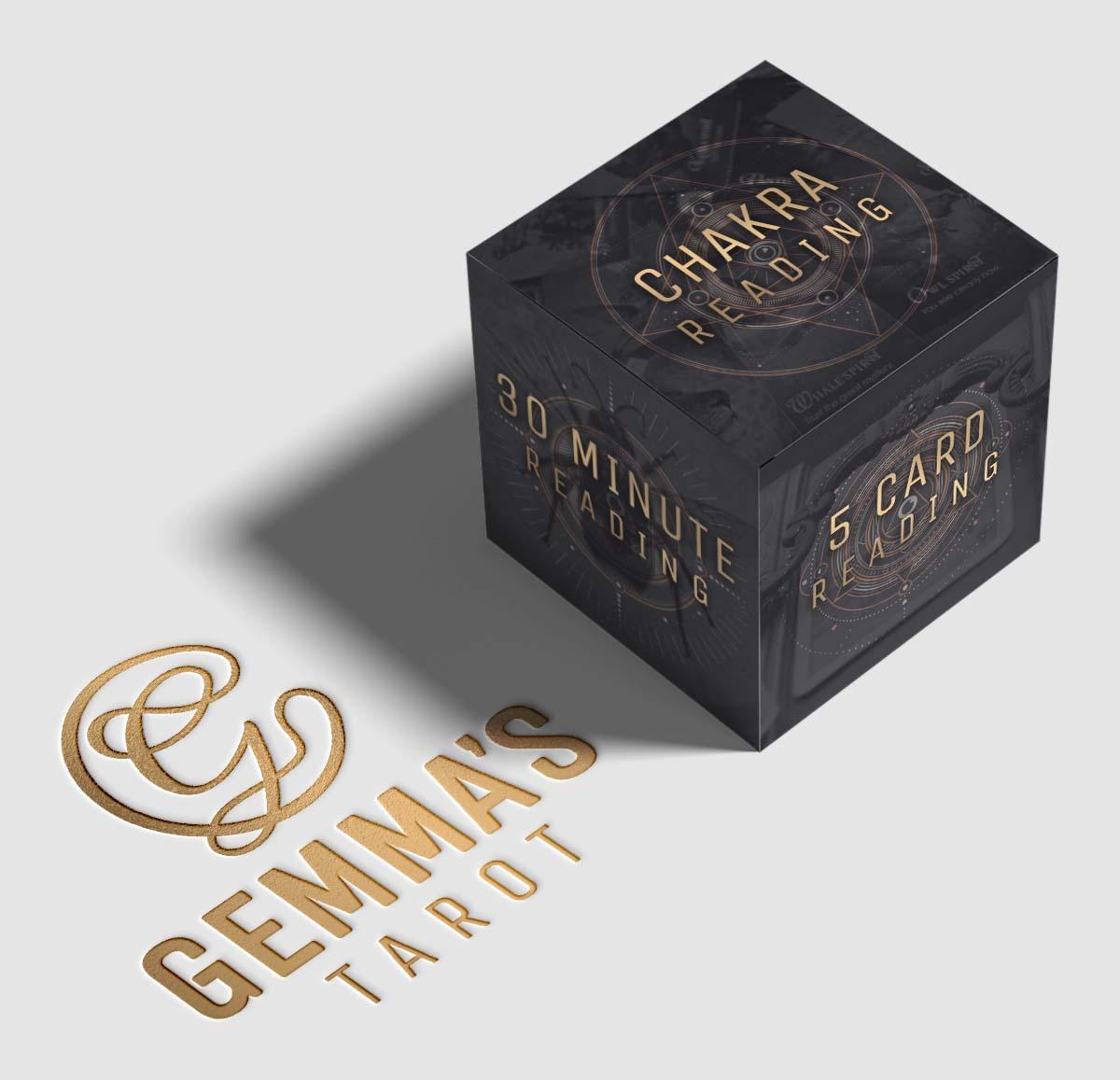 Gemma's Tarot Brand & Website Design