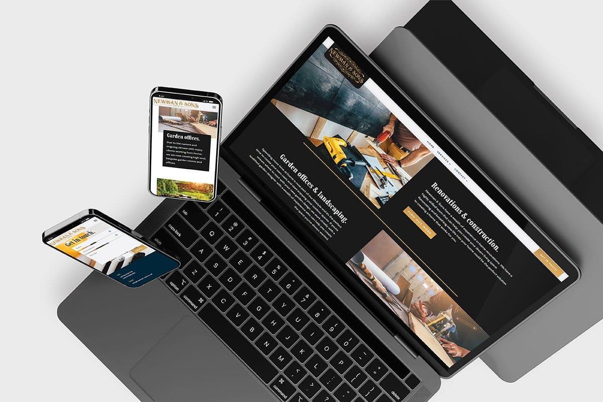 Hove Building Company's Web Design
