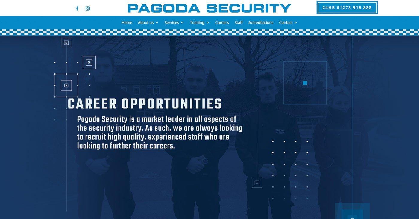 Pagoda Security Company website