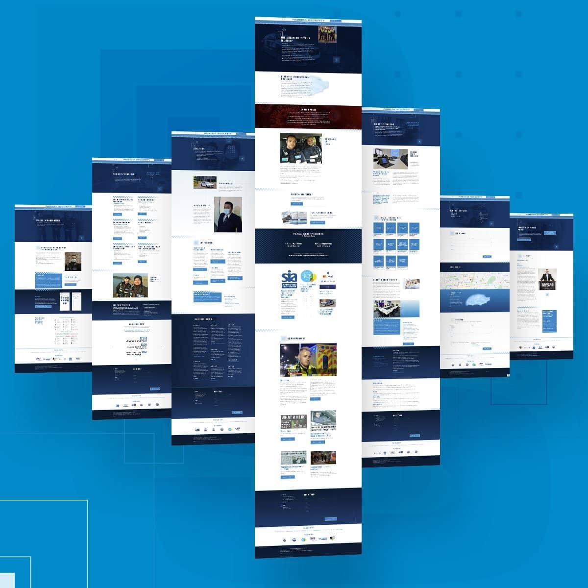 Pagoda Security Company Website Designer