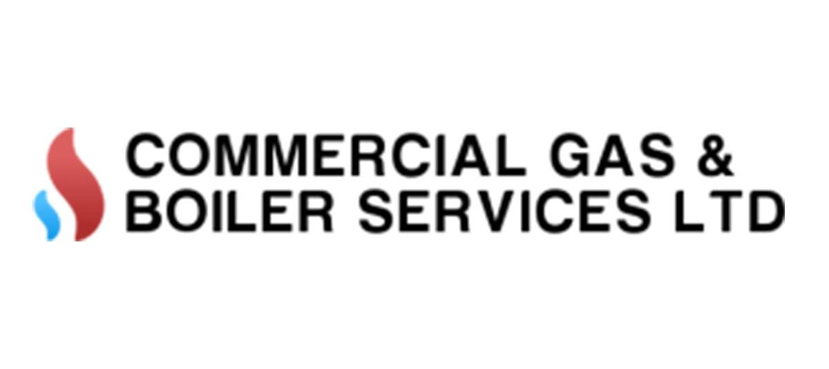 Commercial Gas & Boiler Services Old Logo Design